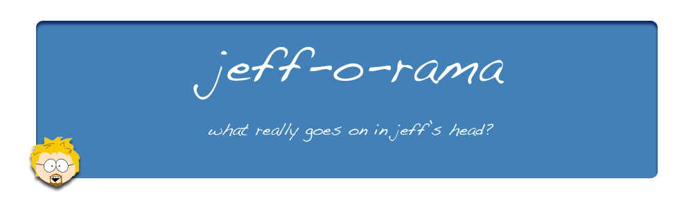 Jeff Gamet's jeff-o-rama